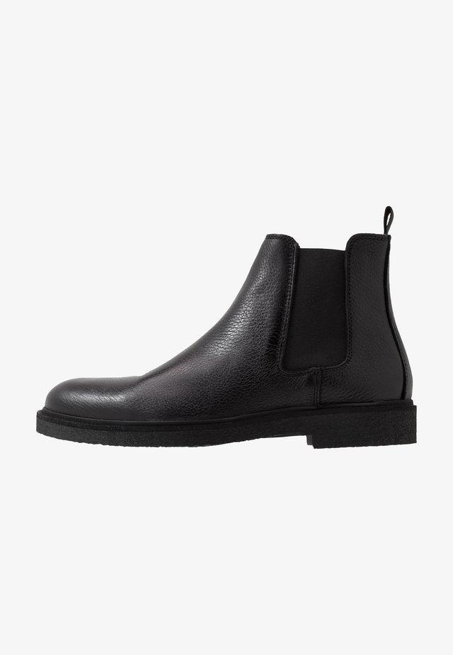 HALTON - Støvletter - black