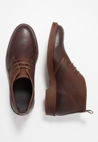 LAST STUDIO - HALSEY - Casual lace-ups - ginger brown - 1