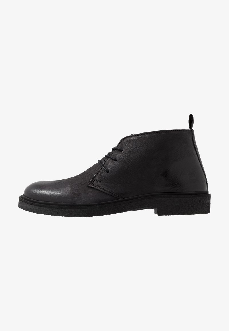LAST STUDIO - HALSEY - Casual lace-ups - black