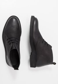 LAST STUDIO - HALSEY - Casual lace-ups - black - 1