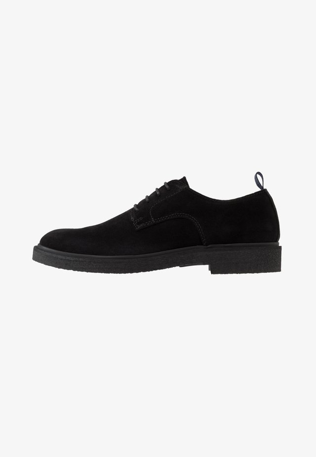 HALVOR - Lace-ups - black