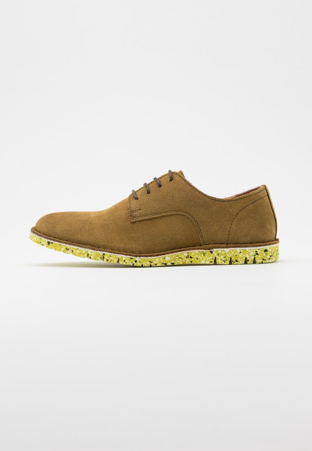 DAVID - Casual lace-ups - olive