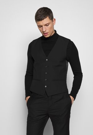 BLACKSLIM WAISTCOAT - Waistcoat - black