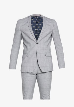 WINDOWPANE SUIT - Anzug - grey