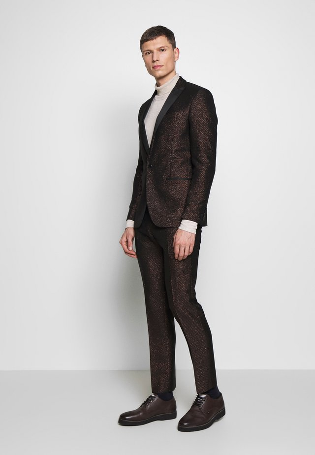 FLECK SUIT - Garnitur - black