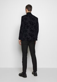 Limehaus - NAVY ROSE FLOCK  - Blazer - navy - 2