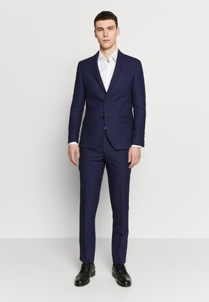 RUST TEXTURE SUIT SET - Garnitur - navy