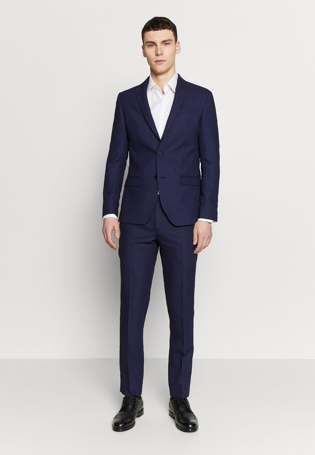 RUST TEXTURE SUIT SET - Suit - navy