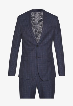 CHECK SUIT - Jakkesæt - navy