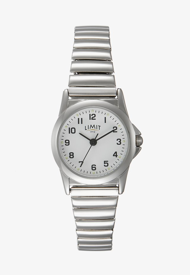 LADIES WATCH DIAL WITH FULL FIGURES - Rannekello - silver-coloured