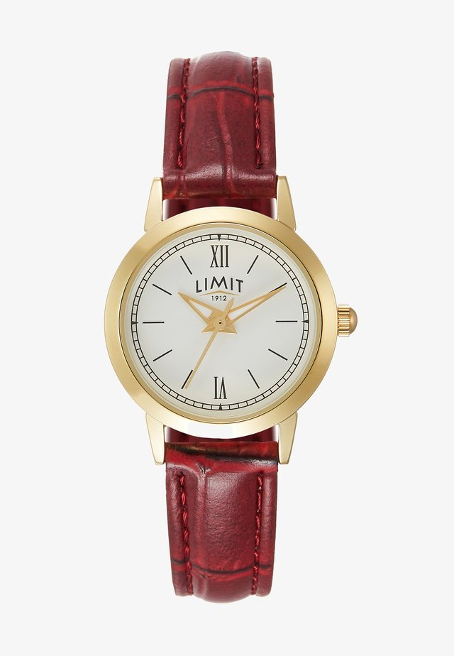 LADIES STRAP WATCH DIAL - Klokke - red