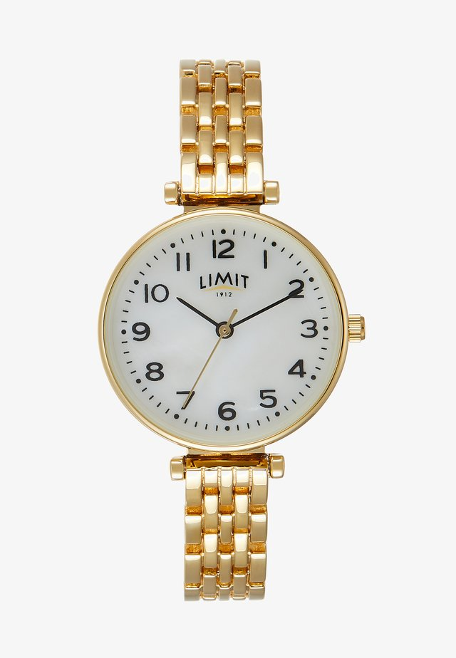 LADIES BRACELET WATCH - Rannekello - gold-coloured