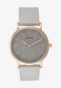 Limit - LADIES STRAP WATCH TEXTURED DIAL - Watch - grey - 0