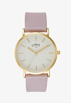 LADIES STRAP WATCH TEXTURED DIAL - Montre - rose