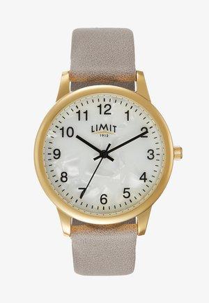 LADIES STRAP WATCH IMITATION DIAL - Watch - grey