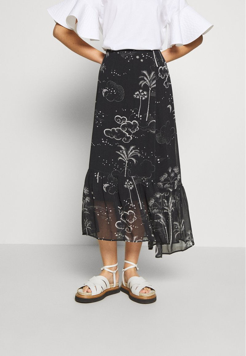 Lily & Lionel - CLEO SKIRT - Maxi skirt - mystic palm