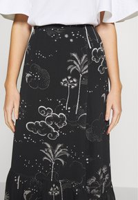 Lily & Lionel - CLEO SKIRT - Maxi skirt - mystic palm - 4