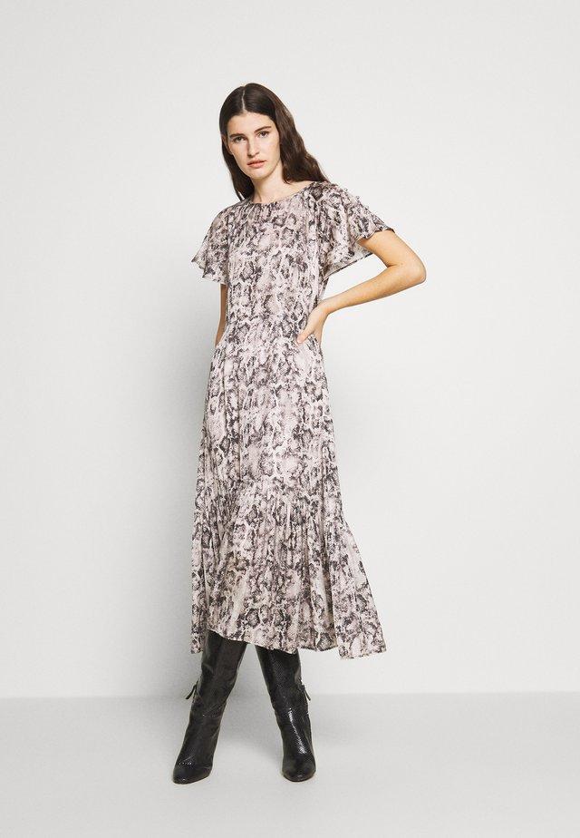 RAE DRESS - Vestido informal - snake natural