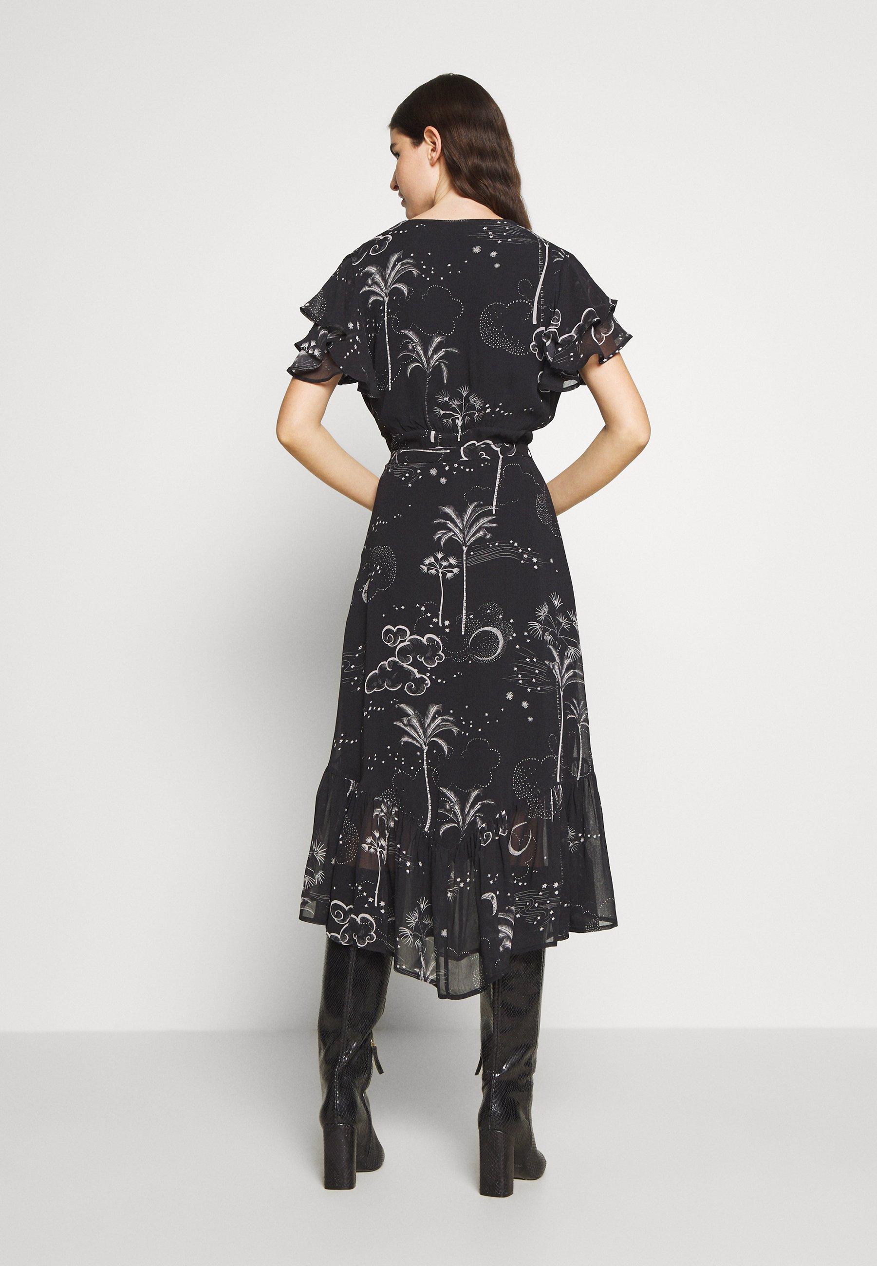 Lily & Lionel RAE DRESS Korte jurk snake natural