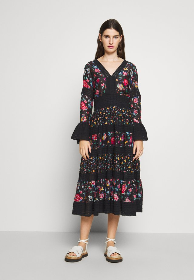 FRIDA DRESS - Day dress - hibiscus black
