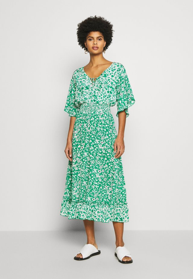 MARLOWE DRESS - Maxi dress - blossom green