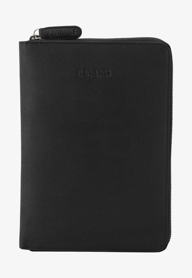 Business card holder - black