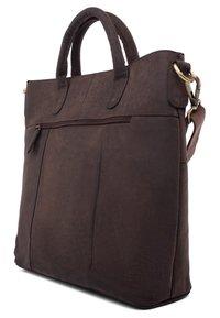 Leabags - ALMADA - Handbag - brown - 3