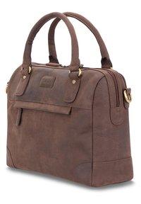 Leabags - DIJON - Handbag - brown - 2