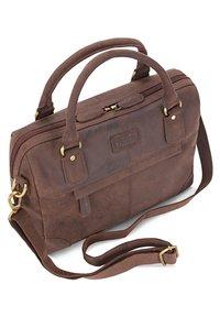 Leabags - DIJON - Handbag - brown - 3