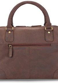 Leabags - DIJON - Handbag - brown - 5