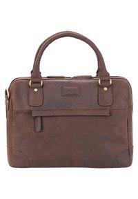 Leabags - DIJON - Handbag - brown - 4
