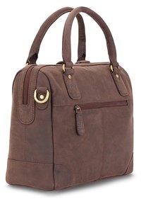 Leabags - DIJON - Handbag - brown - 1