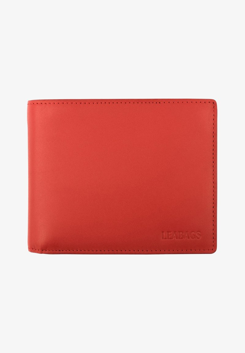 Leabags - ILLINOIS - Wallet - red
