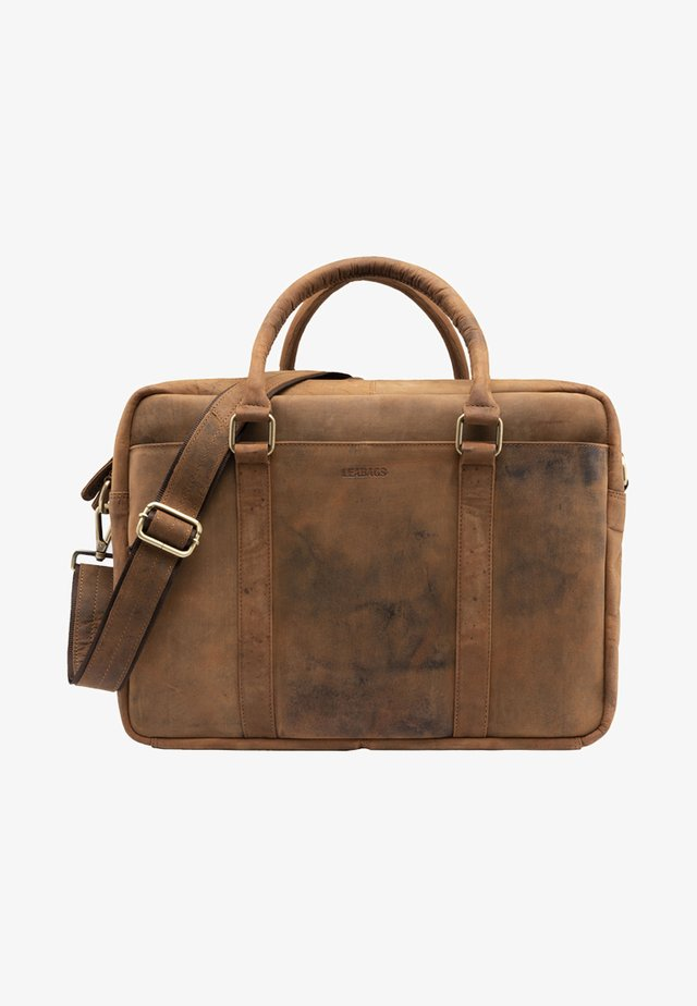 ISTANBUL - Briefcase - camel