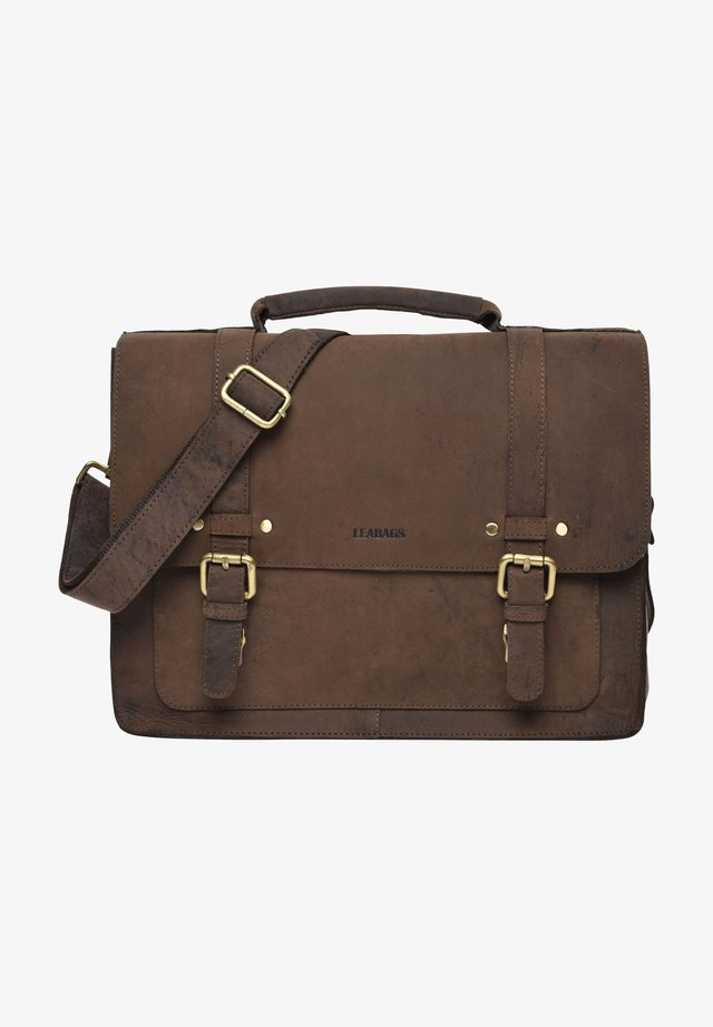 OMAHA - Briefcase - light brown