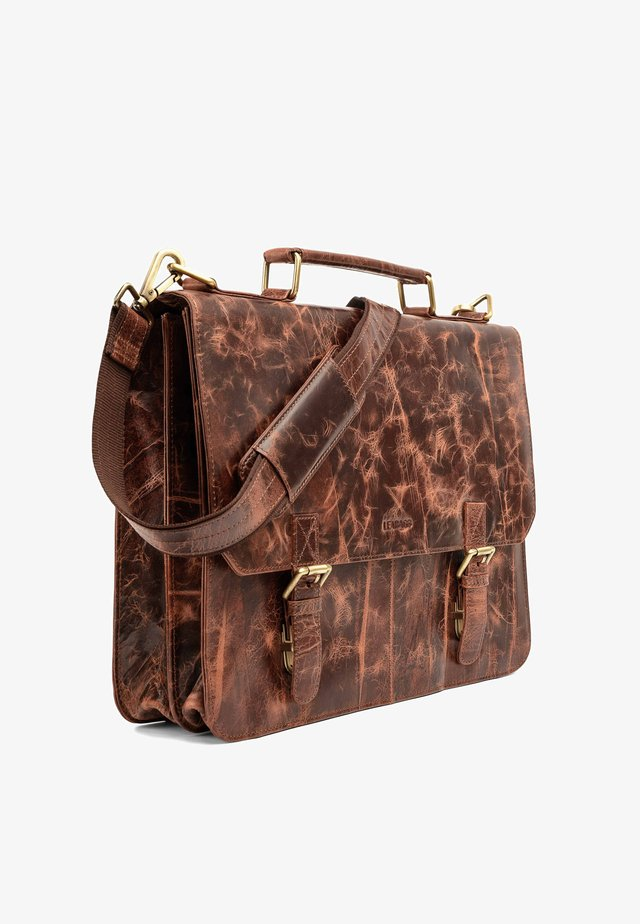 GAINSVILLE - Briefcase - brown