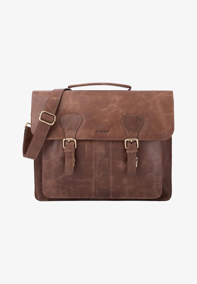 SCOTTDALE - Briefcase - mottled light brown