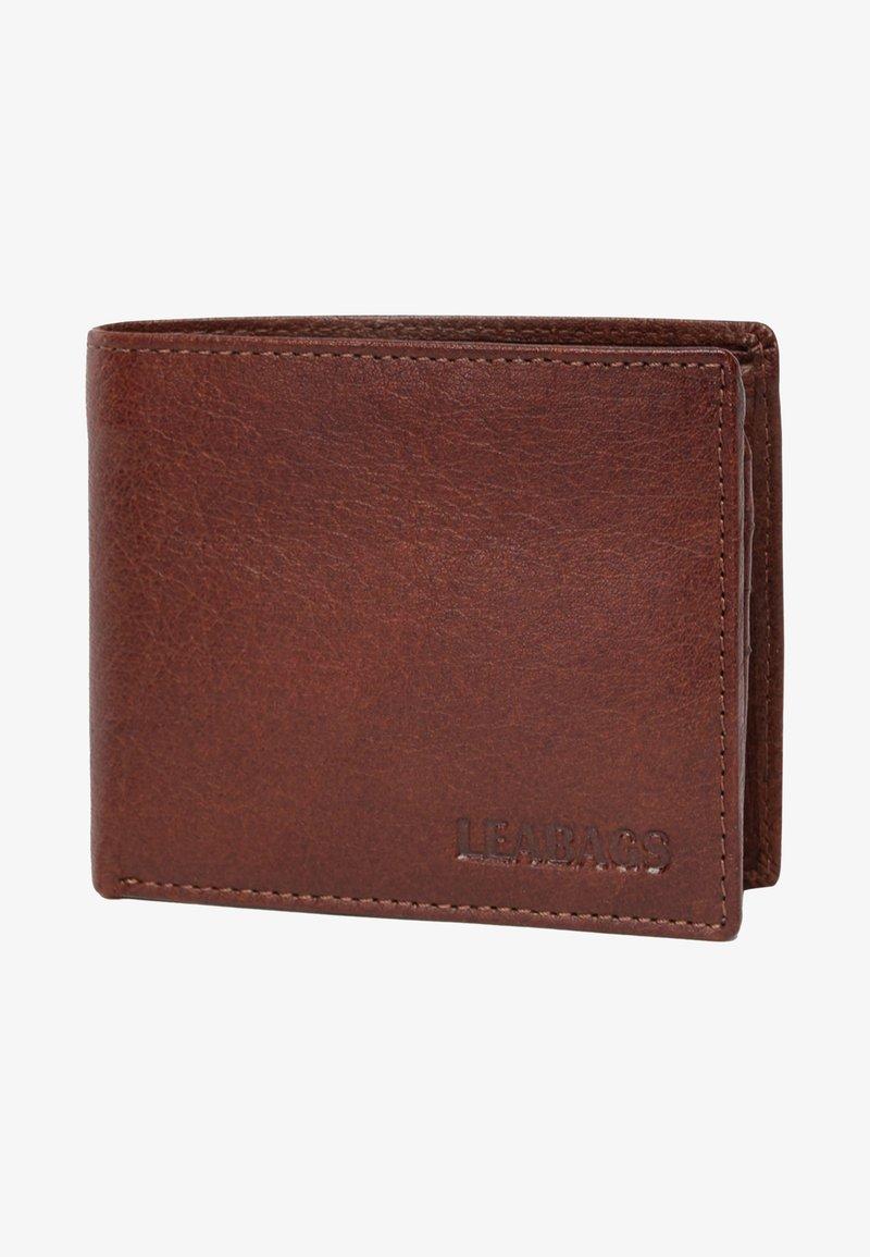 Leabags - SPRINGFIELD - Wallet - dark brown