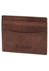 Leabags - KREDITKARTENETUI MILWAUKEE - Wallet - brown - 2