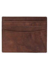Leabags - KREDITKARTENETUI MILWAUKEE - Wallet - brown - 1