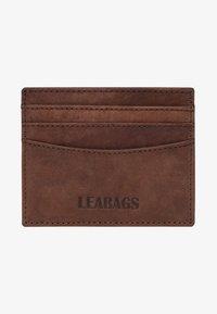Leabags - KREDITKARTENETUI MILWAUKEE - Wallet - brown - 0