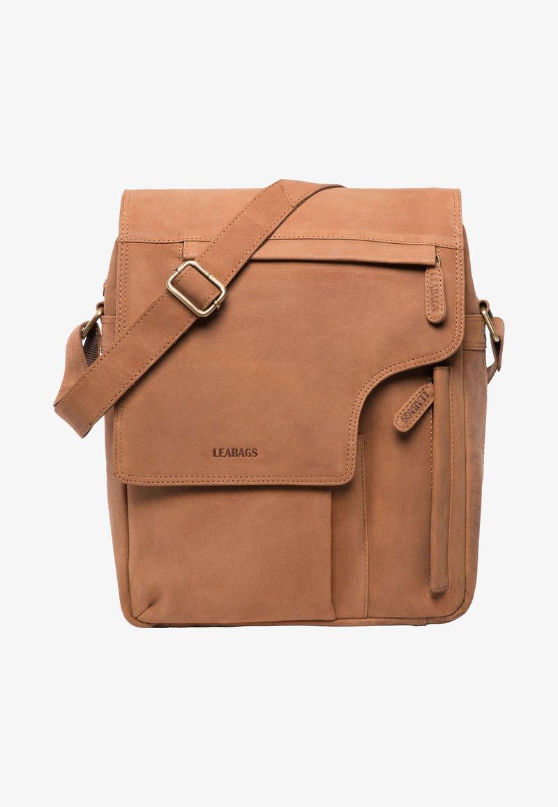 Leabags - Olkalaukku - brown