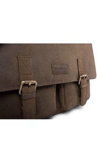 Leabags - CAMBRIDGE - Across body bag - tan - 6