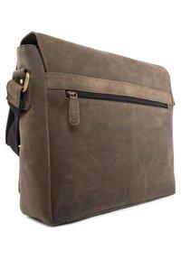 Leabags - CAMBRIDGE - Across body bag - olive - 4