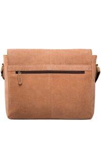 Leabags - CAMBRIDGE - Across body bag - brown - 1