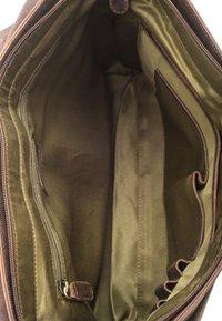 Leabags - CAMBRIDGE - Across body bag - mottled brown - 4