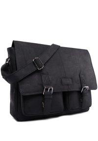 Leabags - CAMBRIDGE - Across body bag - black - 2
