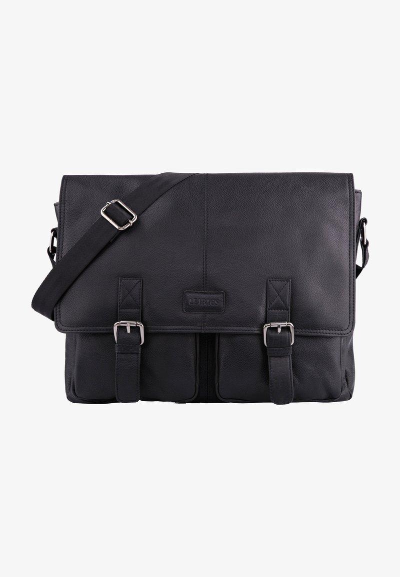 Leabags - CAMBRIDGE - Across body bag - black