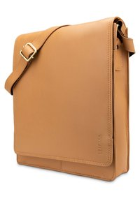 Leabags - LONDON - Across body bag - desert brown