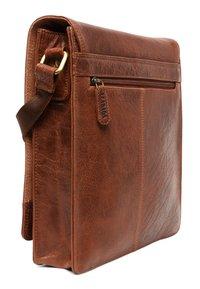Leabags - LONDON - Across body bag - brown/brown - 3